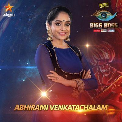 Abhirami Venkatachalam Bigg Boss