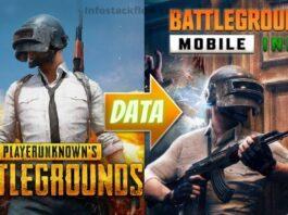 Data Transfer from PUBG to Battleground mobie